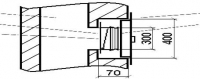 Стыковочный узел УС-1ду - системы дымоудаления