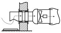 Стыковочный узел УС-1в - системы дымоудаления