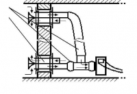 Стыковочный узел УС-1вп - системы дымоудаления